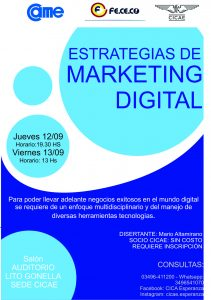 Seminario: Estrategias de Marketing Digital
